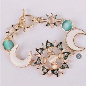 Sun & Half Moon Bracelet